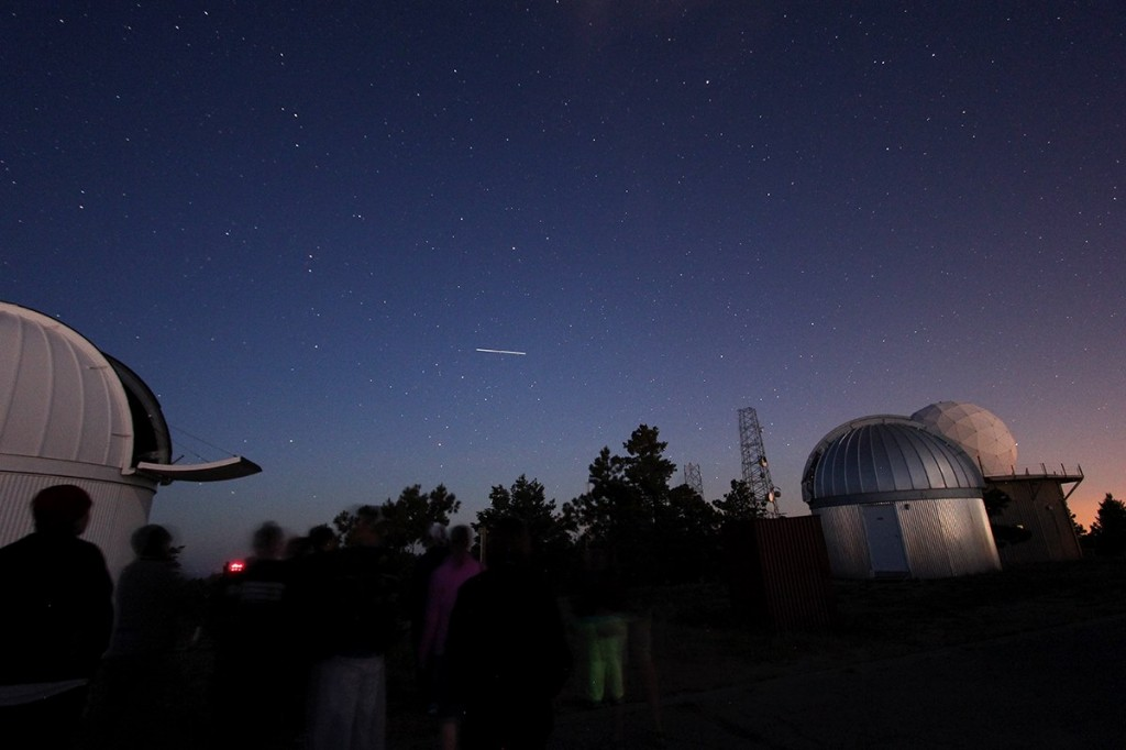 ISS passing